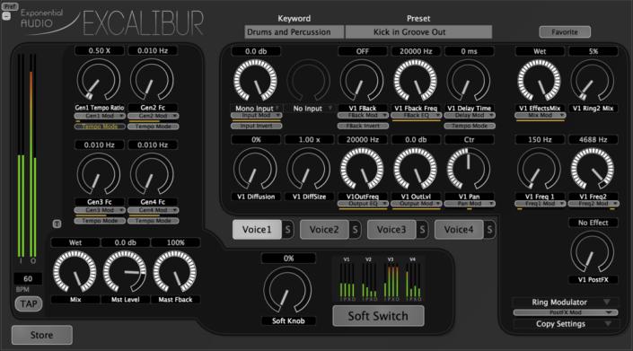 Exponential+Audio+Excalibur+Main+Interface