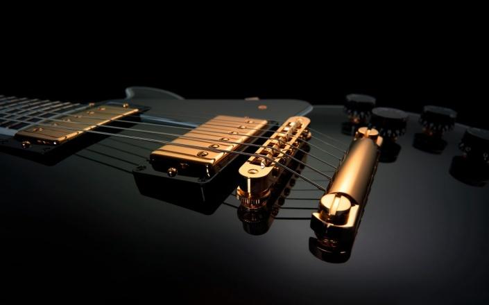 music-black-guitar