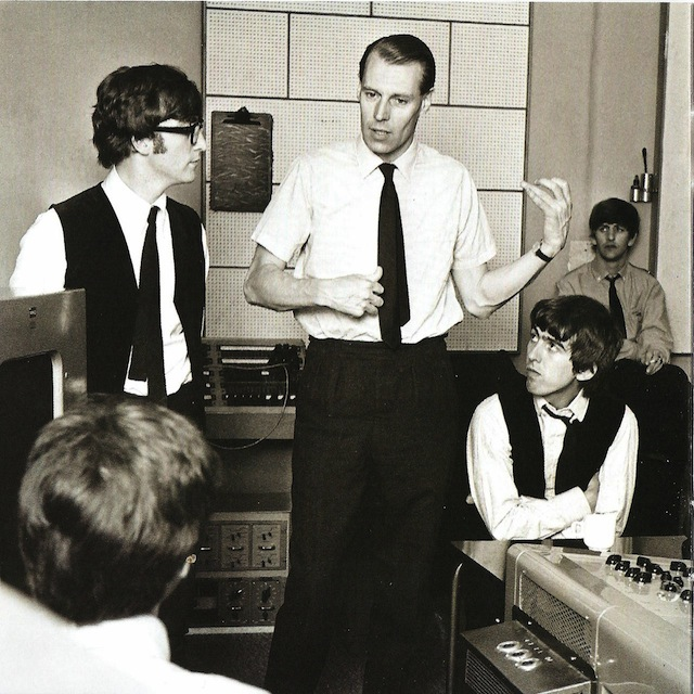 George_Martin_In_Studio